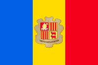 アンドーラ国旗